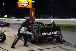 Christopher Bell, Kyle Busch Motorsports Toyota pit stop