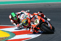 Chaz Davies, Ducati Team, Eugene Laverty, Milwaukee Aprilia
