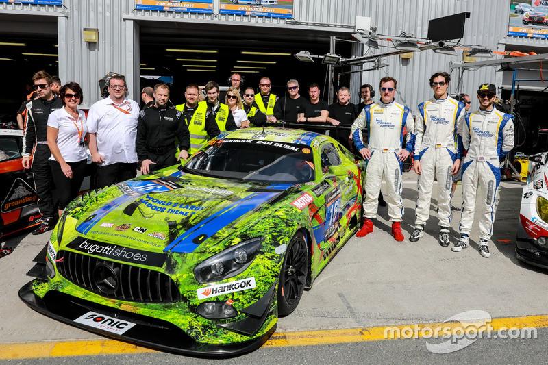 Foto de equipo #16 SPS automotive performance Mercedes AMG GT3: Valentin Pierburg, Tim Müller, Lance-David Arnold, Tom Onslow-Cole