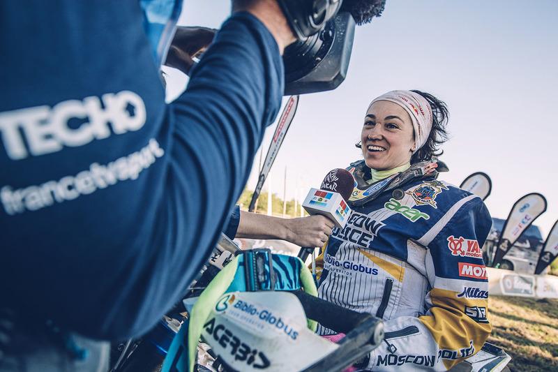 #59 Husqvarna Factory Racing: Anastasiya Nifontova