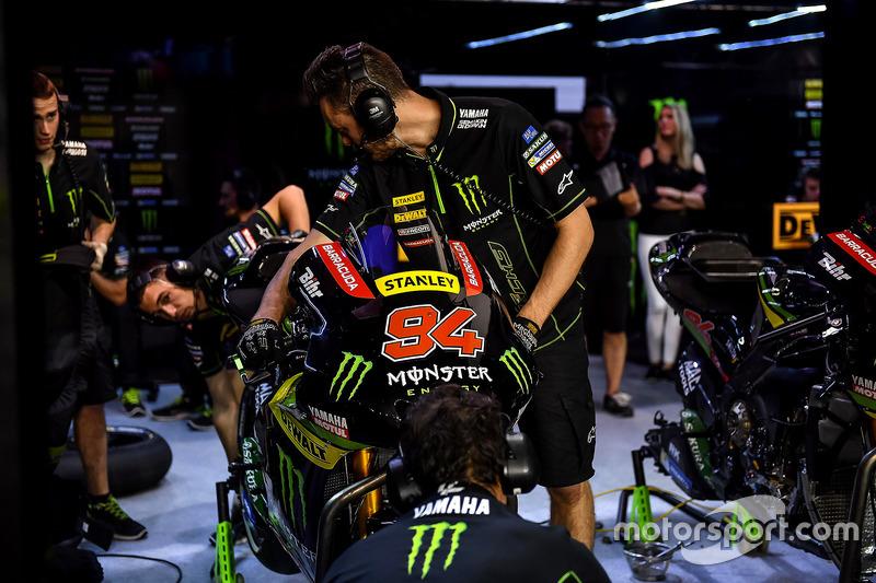 Le team Monster Yamaha Tech3