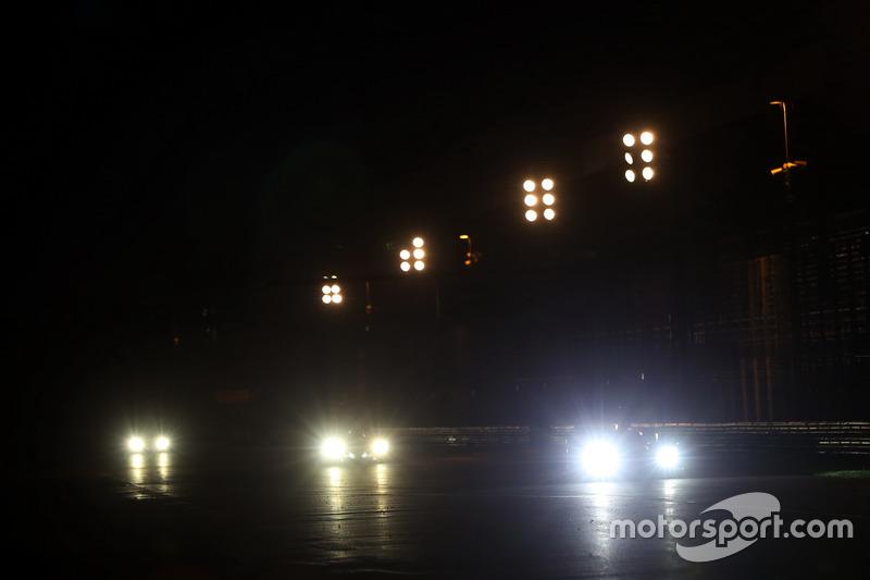 Action im Nachttraining