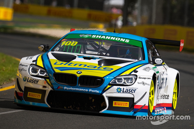 #100 BMW Team SRM, BMW M6 GT3: Steve Richards, James Bergmuller