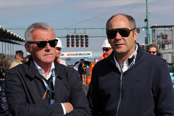 Marcello Lotti and Gerhard Berger