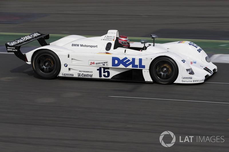 Стив Соупер за рулем прототипа BMW 1999 года