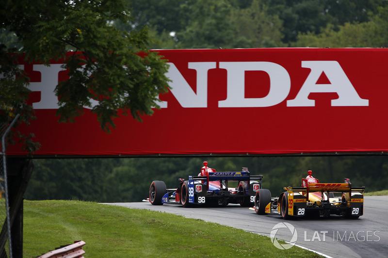 Alexander Rossi, Herta - Andretti Autosport Honda, Ryan Hunter-Reay, Andretti Autosport Honda