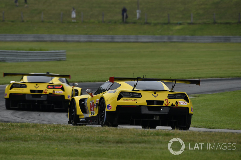 #3 Corvette Racing Chevrolet Corvette C7.R: Antonio Garcia, Jan Magnussen, #4 Corvette Racing Chevrolet Corvette C7.R: Oliver Gavin, Tommy Milner