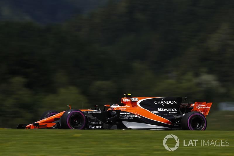 12 місце — Стоффель Вандорн (Бельгія, McLaren) — коефіцієнт 1001,00