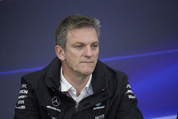 James Allison, Technical Director, Mercedes AMG F1, in the press conference