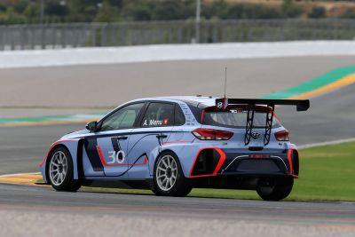 现代i30 N TCR赛车瓦伦西亚测试