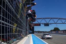 #911 Herberth Motorsport, Porsche 991 GT3 R: Daniel Allemann, Ralf Bohn, Robert Renauer, Alfred Renauer takes the win