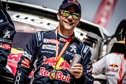 Обладатель второго места Себастьен Лёб, Peugeot Sport