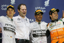 Podium: 1. Lewis Hamilton, Mercedes; 2. Nico Rosberg, Mercedes; 3. Sergio Perez, Force India