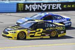 Brad Keselowski, Team Penske, Ford Fusion Alliance Truck Parts, Ricky Stenhouse Jr., Roush Fenway Racing, Ford Fusion Fastenal