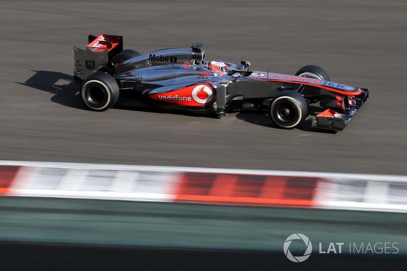 2013: McLaren MP4-28