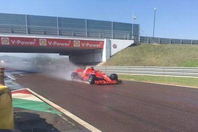 Pirelli-Reifentest: Ferrari in Fiorano