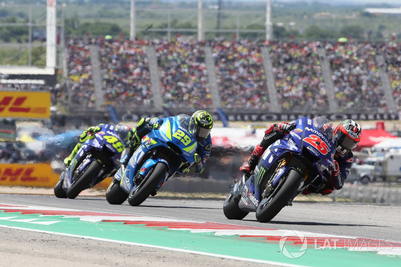 Маверик Виньялес, Yamaha Factory Racing, Андреа Янноне, Team Suzuki MotoGP, Валентино Росси, Yamaha Factory Racing