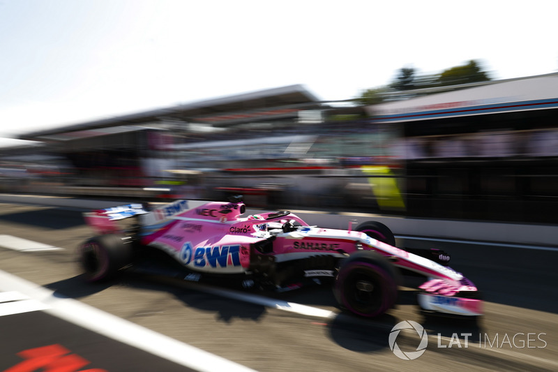 10: Sergio Perez, Force India VJM11, 1'12.774