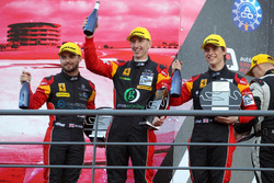 GTE Podium: #66 JMW Motorsport, Ferrari F458 Italia: Robert Smith, Jody Fannin, James Dayson