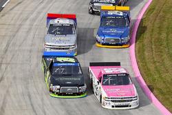 Kaz Grala, GMS Racing Chevrolet, Austin Cindric, Brad Keselowski Racing Ford