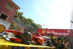 I resti della monoposto di Felipe Massa, Ferrari