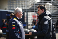 Helmut Markko, Consultant, Red Bull Racing, Toto Wolff, Executive Director Mercedes AMG F1