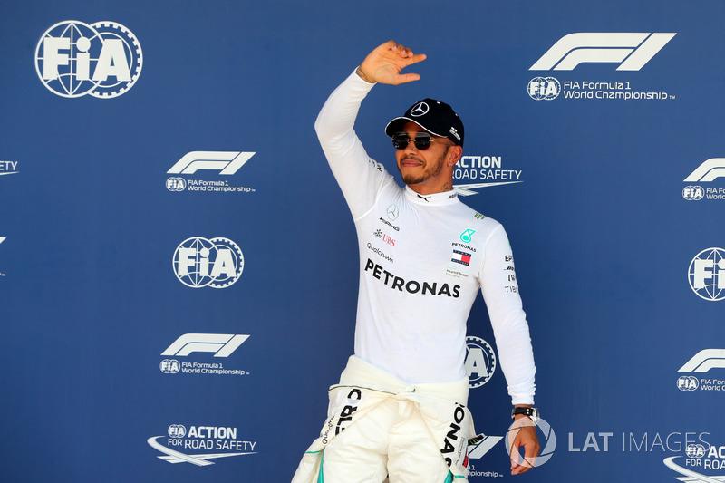 Con Mercedes suma 50 poles, de las 76 que tiene en la F1.