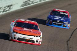 Daniel Hemric, Richard Childress Racing Chevrolet and Ty Majeski, Roush Fenway Racing Ford