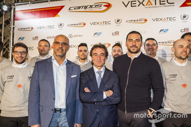 Campos Racing presentation
