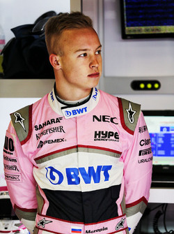 Nikita Mazepin, Sahara Force India F1