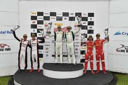 #96 Pfaff Motorsports Porsche 911 GT3 R: Scott Hargrove, Wolf Henzler, #24 Alegra Motorsports Porsch