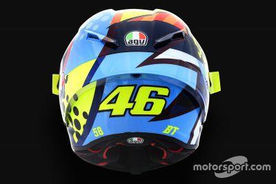 Valentino Rossi kask tasarımı