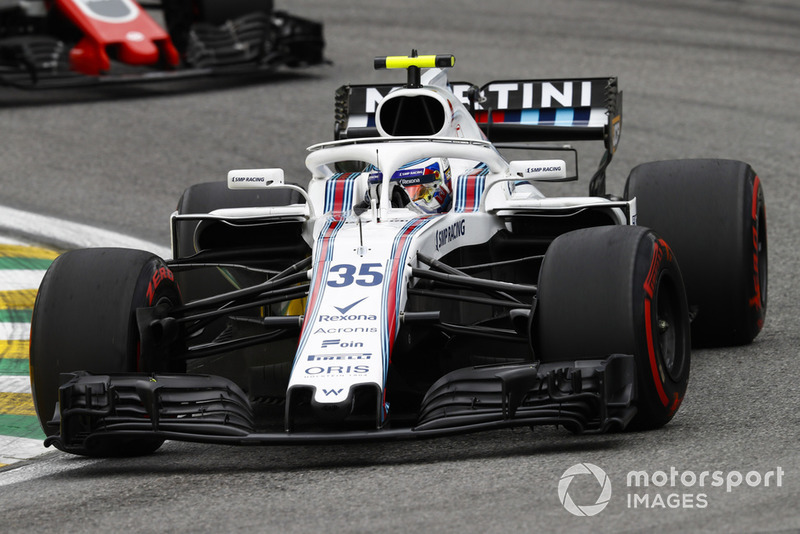 14. Sergei Sirotkin, Williams FW41