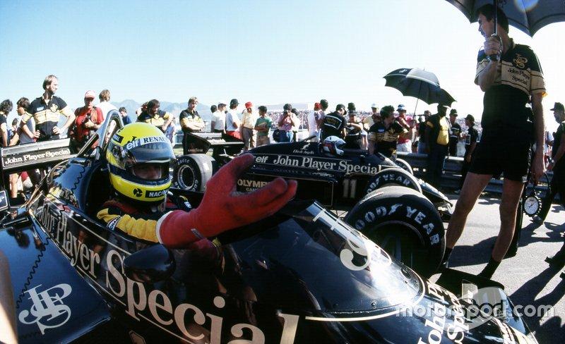 9: Ayrton Senna ed Elio de Angelis (Lotus)