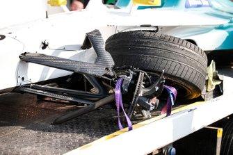 Front wheel of Tom Dillmann, NIO Formula E Team, NIO Sport 004