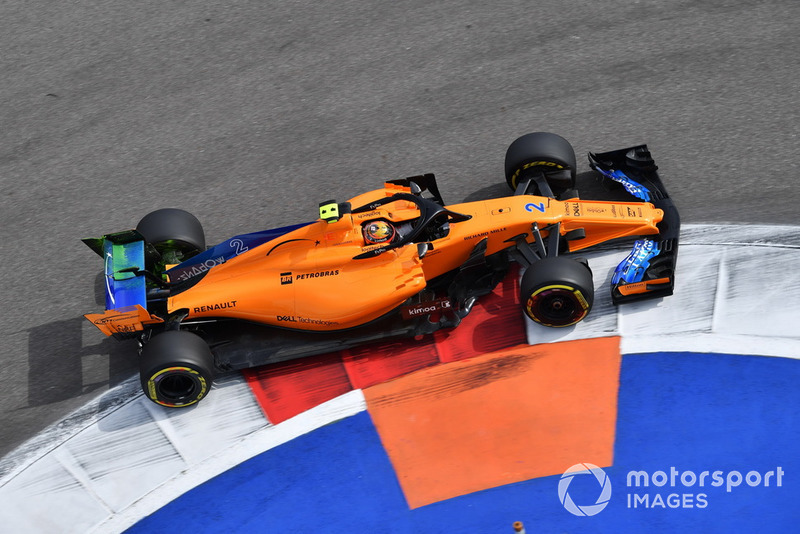 18. Stoffel Vandoorne, McLaren MCL33 with aero paint