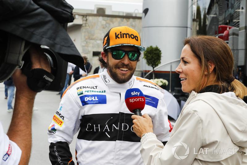 «Не Фернандо Алонсо», McLaren