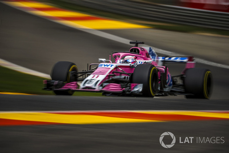 4: Sergio Perez, Racing Point Force India VJM11, 2'01.894
