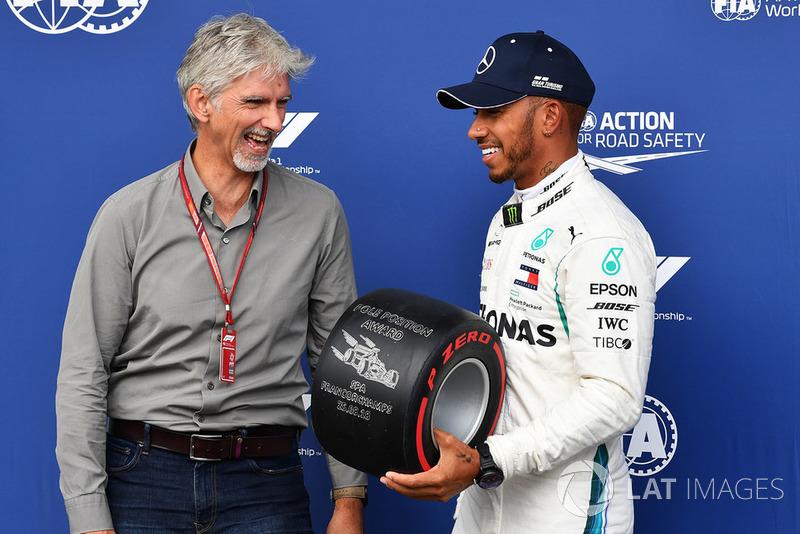 Damon Hill, Sky y Lewis Hamilton, Mercedes AMG F1