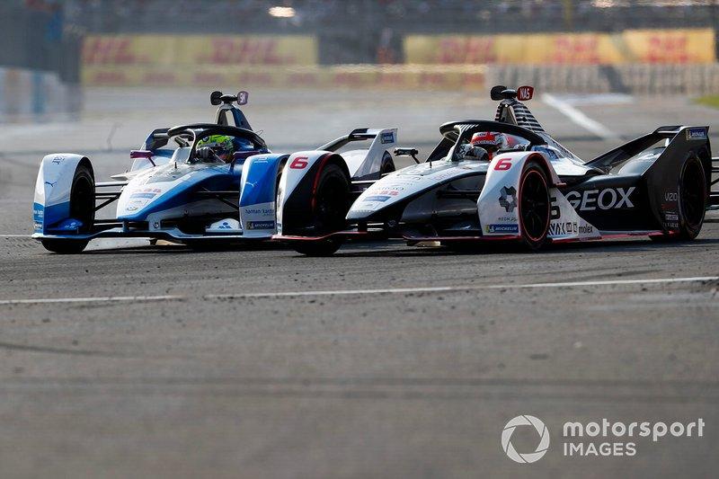 Felipe Nasr, Dragon Racing, Penske EV-3, Alexander Sims, BMW I Andretti Motorsports, BMW iFE.18