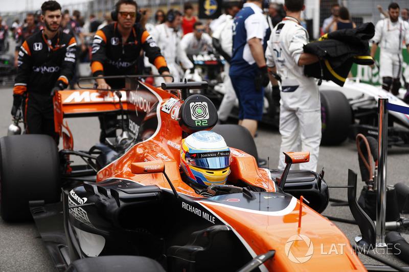 Феррнандо Алонсо, McLaren