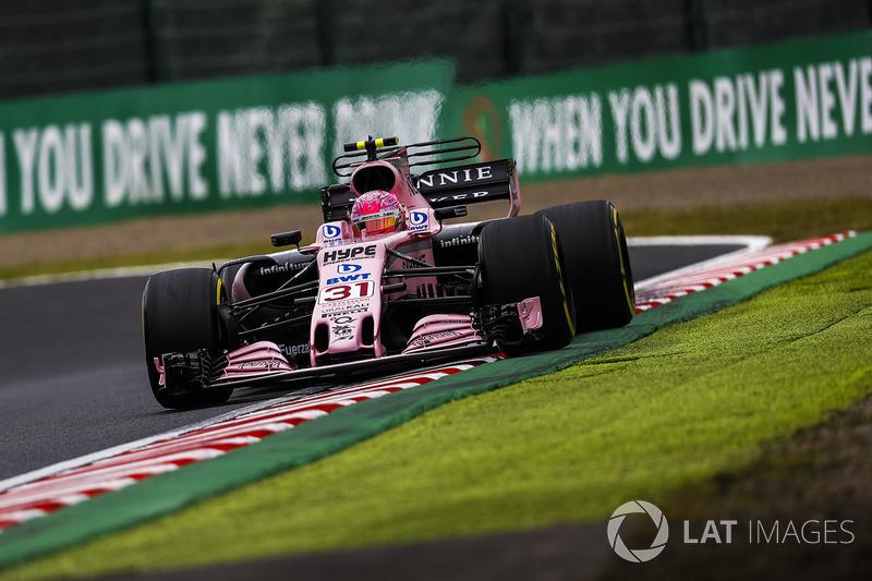 5: Esteban Ocon, Sahara Force India VJM10