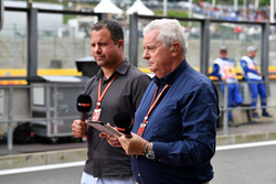 Ted Kravitz, Sky TV and Pat Symonds