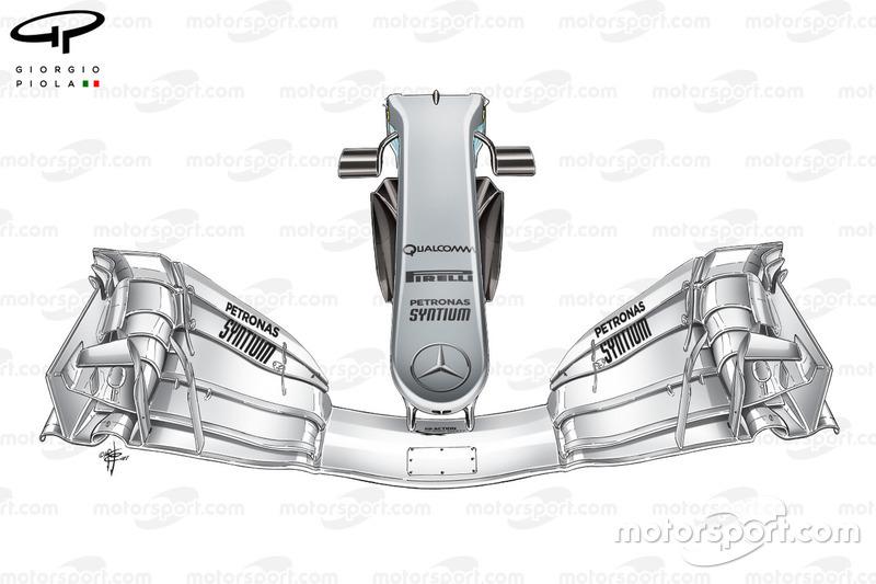 Morro del Mercedes W08, Gran Premio de España