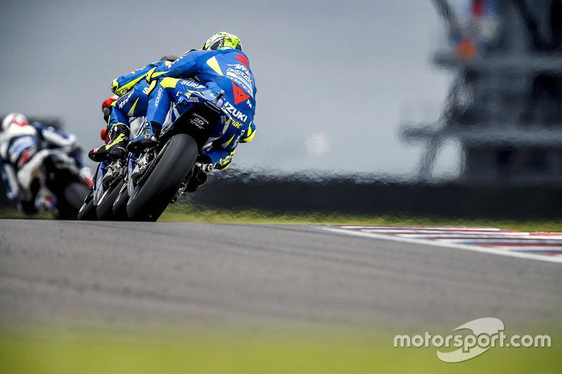 Andrea Iannone, Team Suzuki MotoGP; Alex Rins, Team Suzuki MotoGP