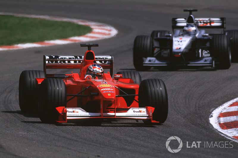 2000 Spanish GP, Ferrari F1-2000