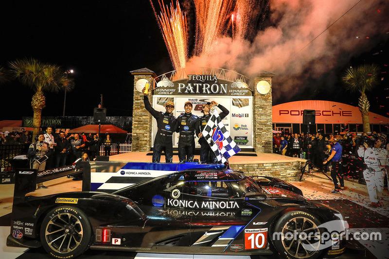 2. Ganadores Ricky Taylor, Jordan Taylor, Alex Lynn, Wayne Taylor Racing