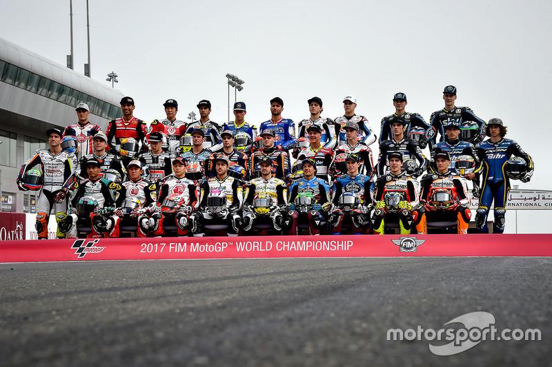 Alle Fahrer in der Moto2 2017
