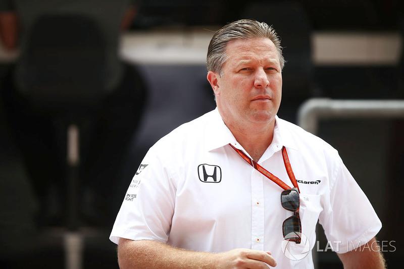 Зак Браун, виконавчий директор McLaren Technology Group