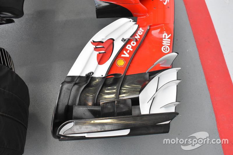 Aileron avant de la Ferrari SF70H